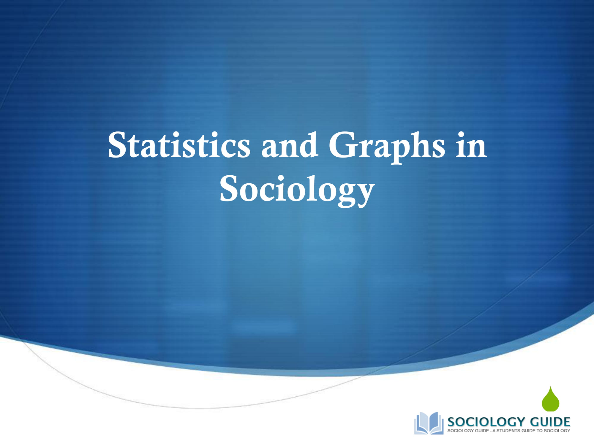 graphs and statistics in sociology