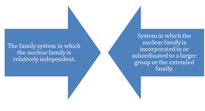 nuclear family system